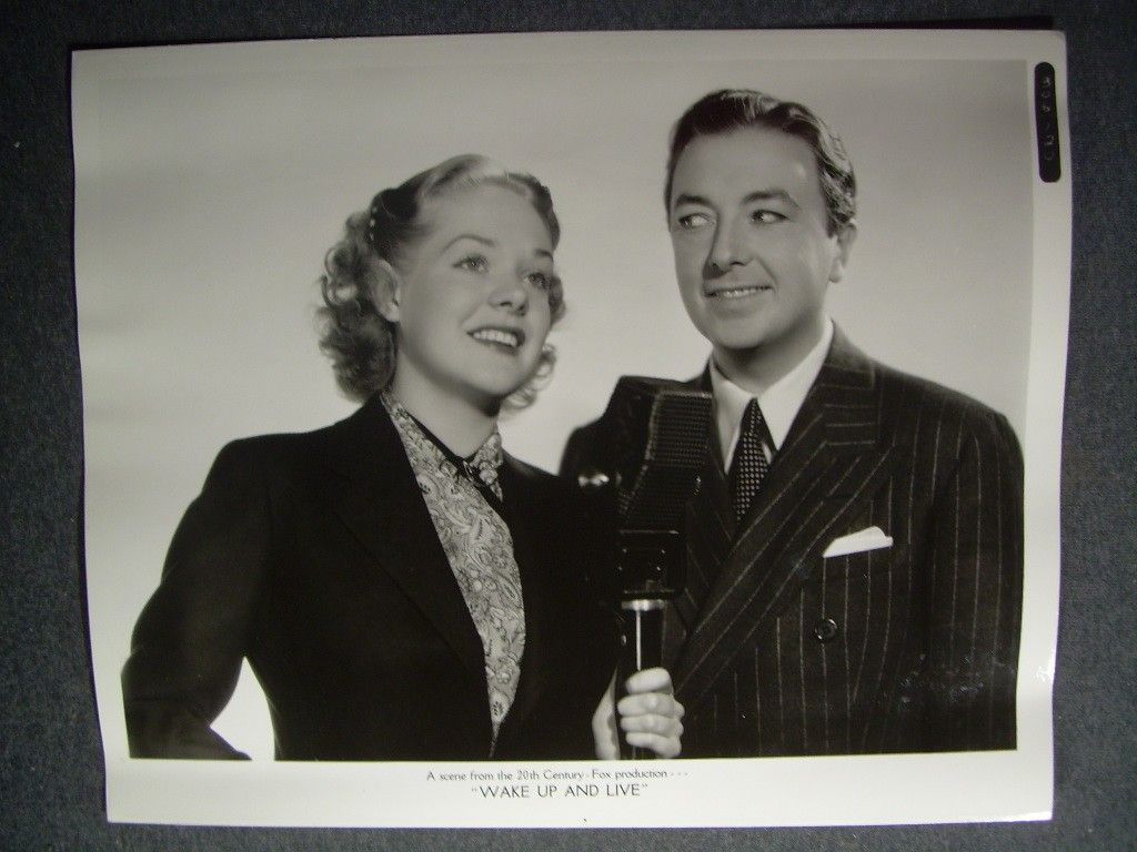 Wake Up and Live, starring Jack Haley and Alice Faye